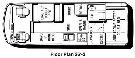 Rialta Rv Floor Plans by The 26 Foot Motorhome