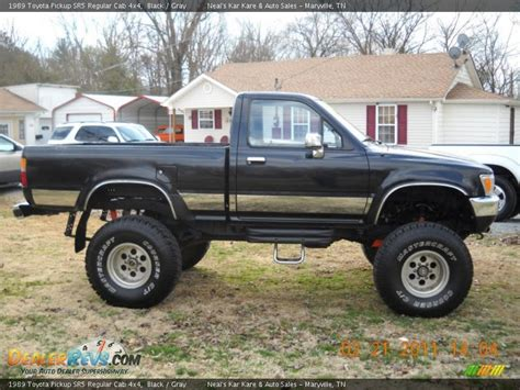 1989 Toyota Sr5 4x4 Black 1989 Toyota Sr5 Regular Cab 4x4 Photo 5