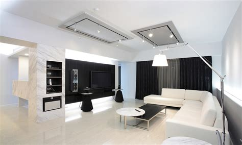 White Modern Living Room by Black And White Modern Living Room Modern House