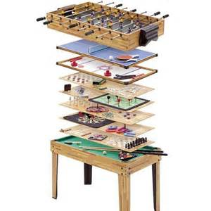 Game Room Table - the ultimate game table featuring 20 in 1 design