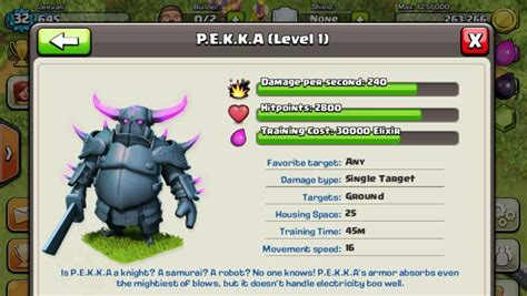 Coc Pekka Level6 clash of clans top tips cheats for p e k k a s