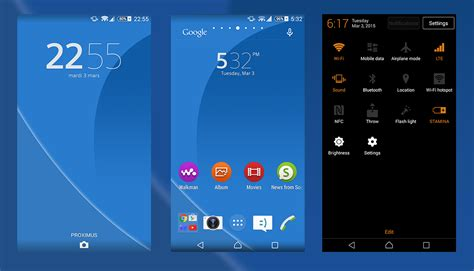 love themes for sony xperia m2 material theme nxp blue for xperia m 4 3 nicklas core droid