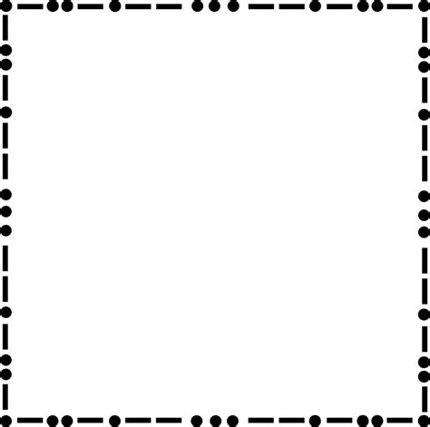 dot pattern border dot page borders clipart best