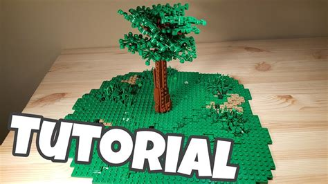tutorial lego tree lego tree tutorial updated youtube