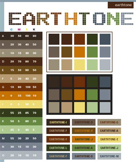 tone color projectncy diary earth tones