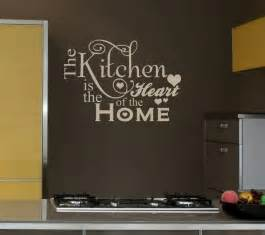 Quotes About Home Decor by 25x16 Kitchen Heart Home Decal Shabby Chic Decor Vinyl