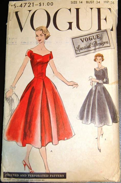 diamond pattern vintage blue dress 1000 ideas about vogue patterns on pinterest vintage