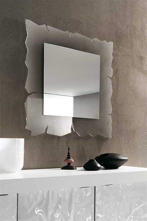 specchiera da letto specchio moderno riflessi vision with specchiera da