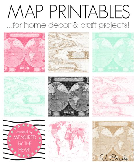 printable maps for crafts free map printables