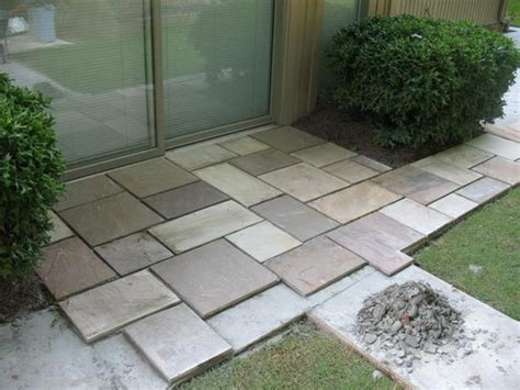 Large Patio Pavers Large Paver Patio Pattern Patio Inspiration