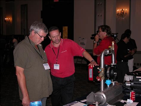 Robert Williams Plumbing by Hydronics Event Attracts A House Hpac Magazine