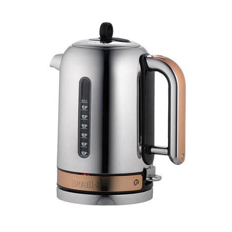 dualit kitchen appliances dualit 72820 classic kettle copper homeware thehut