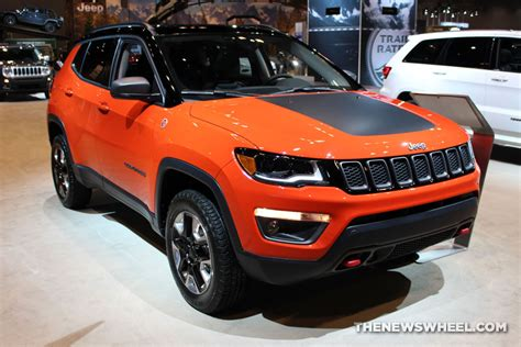 2017 Jeep Compass Trailhawk Orange The Wheel