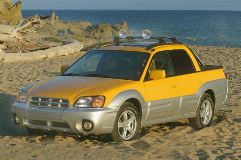 subaru baja 2003 06 subaru baja consumer guide auto