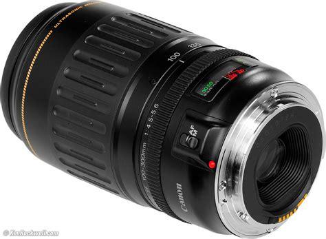 Lensa Canon Ultrasonic 100 300mm canon 100 300mm usm review