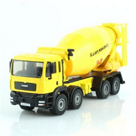 Diecast Miniatur Mixer Truck Cement Concrete Lorry Kdw Ori Harga Murah kdw 1 50 scale diecast cement mixer truck construction vehicle cars model toys o ebay