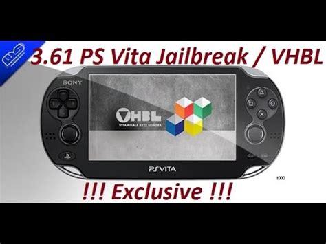 tutorial hack ps vita how to jailbreak ps vita 3 65 3 63 3 61 hack