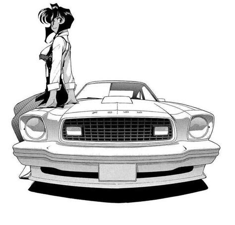 anime mustang rally in gunsmith cats anime favorites