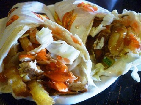 Makanan Enak Kebab cara membuat jajanan kebab ayam spesial makanajib