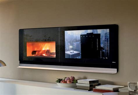 scenario fireplace tv solves the television on top of the