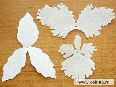 orquidea de papel crepe molde de orquidea en papel 1 eva moldes e pap