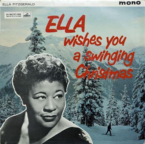 ella fitzgerald  frank de vol   orchestra ella wishes   swinging christmas
