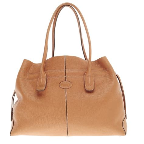 Tods Novita D Bag by Buy Tod S Classic D Bag Tote Leather Medium Brown 337802