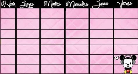 horario de clases para imprimir horario de clases by daviipurple on deviantart