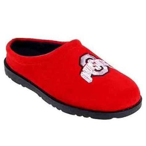 ohio state slippers mens ohio state buckeyes slippers hush puppies 10037 clog