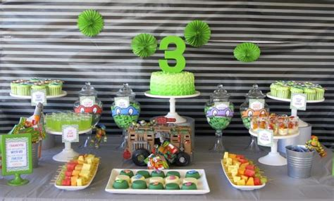 Turtle Themed Birthday Supplies by Turtles Themed 3rd Birthday Spaceships And