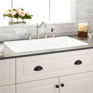 White Sinks For Kitchen 25 Best Ideas About Drop In Kitchen Sink On