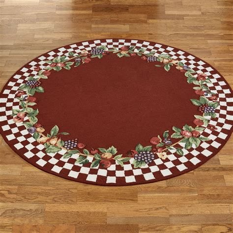 Fruit Kitchen Rugs by Sonoma Hooked Fruit Rugs