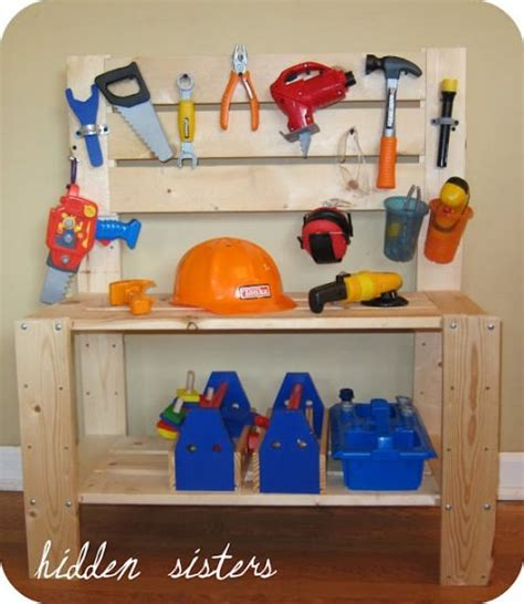 tool bench for 2 year old 21 homemade gifts for kids 2 9 years old tip junkie