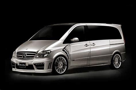 Anderson Upholstery Wald International Mercedes Benz Viano Black Bison Custom Van