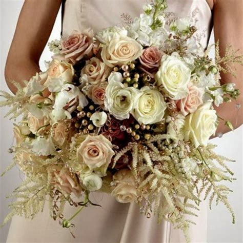 Wedding Bouquet Gold by Gold Wedding Bouquet Find The In Me