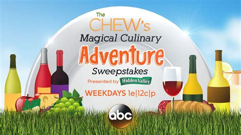 Disney Com Magical World Sweepstakes - news win a trip to disney world with the chew s magical adventure culinary