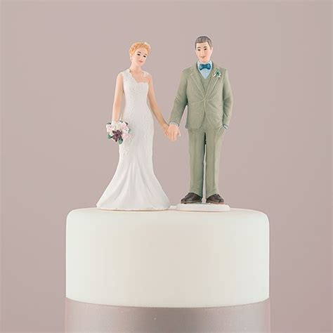 Wedding Figurines by Woodland And Groom Porcelain Figurine Wedding Cake