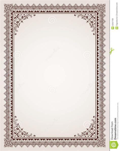fancy border template border frame certificate www pixshark images