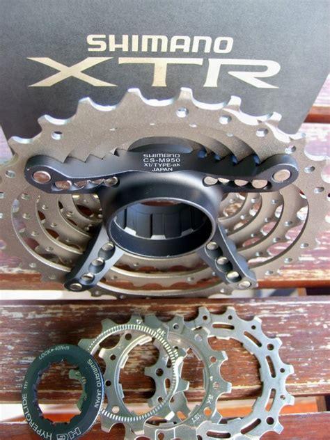 xtr cassette shimano xtr 8 speed cassette cs m950 11 30 brand new