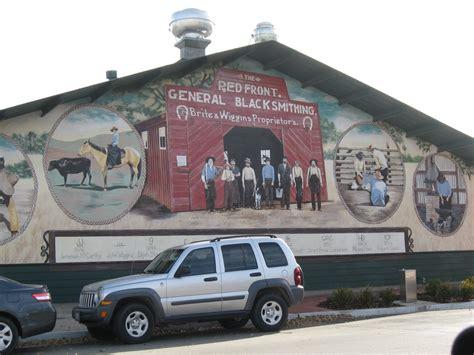 Tehachapi Post Office by Desert Living The Murals Of Tehachapi California