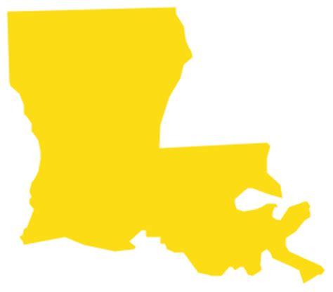 geo map usa louisiana