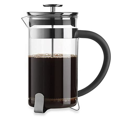 bed bath and beyond french press bialetti 174 simplicity 8 cup french press coffee maker bed