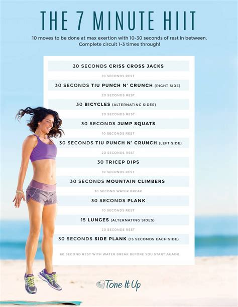 best hiit workouts the best outdoor springtime workouts toneitup
