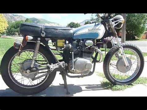 1973 honda cl350 cafe racer project