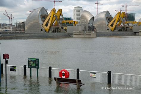 thames barrier scheduled closure thames barrier is closed for first time this winter due to