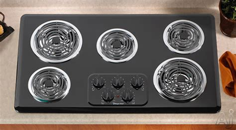 36 inch electric coil cooktop magic chef cec1536aab 36 inch electric cooktop with 5 coil