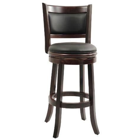 Boraam Augusta Swivel Stool 29 Inch Cappuccino Finish 2 Pack by Boraam 48829 Augusta Bar Height Swivel Stool 29 Inch