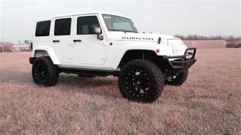 white jeep black rims lifted 2015 jeep wrangler kevlar white 24 quot xd wheels 35