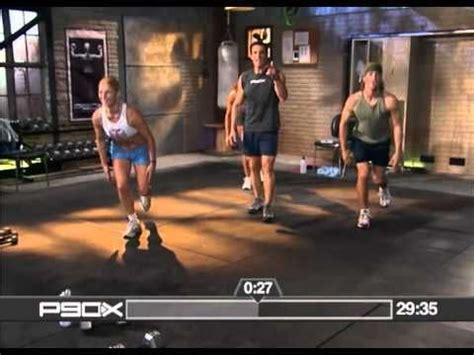 p90x home fitness legs and back plan
