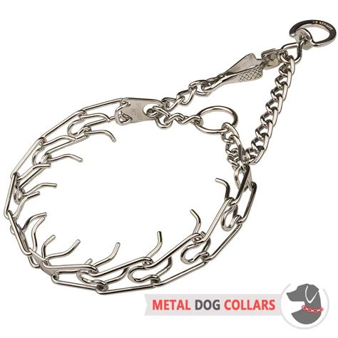 how to use a pinch collar for release prong collar with swivel 25 inch 65 cm hs35 1091 50146 02 3 99